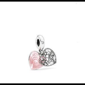 Pandora LOVE MAKES A FAMILY Charm, 796459EN28